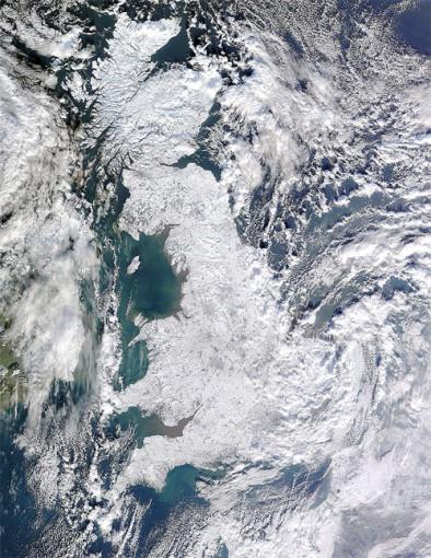 Eiszeit in GB 2010