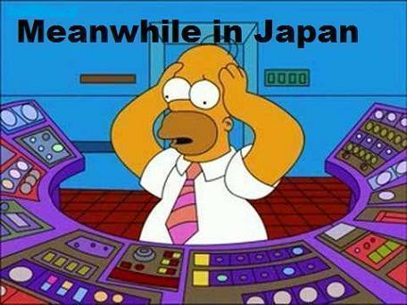 Homer Simpson in  Fukushima